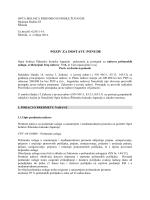 POZIV ZA DOSTAVU PONUDE - Opća bolnica Šibensko