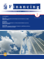 "Naučni časopis ""Financing"" - Broj 3 Godina 4 / septembar 2013."