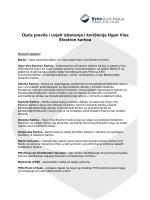 Opća pravila i uvjeti izdavanja i korištenja Hypo