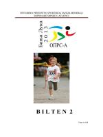 bilten -2 – otvoreno prvenstvo republike srpske u atletici
