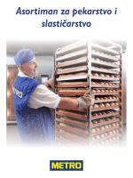 Asortiman za pekarstvo i slastičarstvo