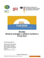 Studija Solarna energija u sektoru turizma u Crnoj Gori