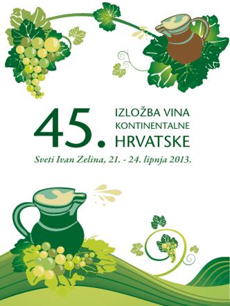 45. Izložba vina kontinentalne Hrvatske