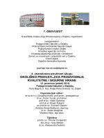 Prva obavijest....više - Poljoprivredni institut Osijek
