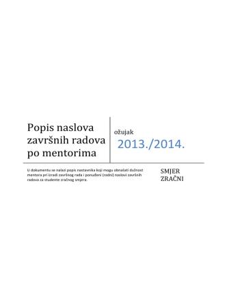 2013./2014.
