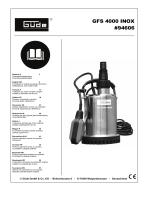 GFS 4000 INOX #94606
