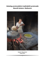 Katalog proizvođača tradicijskih proizvoda Ravnih kotara i Bukovice
