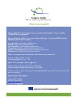 Zeleni Hrvatske – Invitation closing conference 27 11 2014