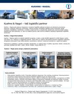 Kuehne & Nagel – Vaš logistički partner