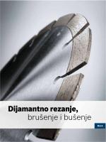 Dijamantno rezanje, brušenje i bušenje