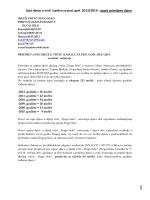 Upis djece u vrtić i jaslice za ped. god. 2013/2014