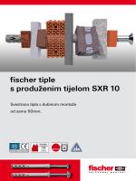 fischer tiple s produženim tijelom SXR 10