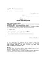 Obrazac obavijesti o OIB-u
