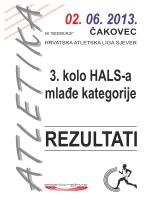 Cjelokupni rezultati 3. kola HALS-a za mlađe dobne