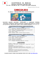 """ChibiCon2015"" u Domu omladine Beograda"