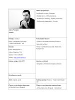 Andrej Prekajski Advokat Oblasti specijalizacije:
