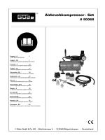Airbrushkompressor - Set