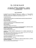 Ohrid 13. Seminar od 19 do 23 juna 2013 godine
