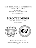 PROCEEDINGS - Vallis Aurea 2014
