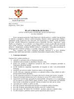 Plan i program rada 2014. - Javna vatrogasna postrojba Koprivnica