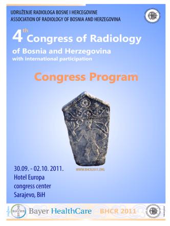 4Congress of Radiology of Bosnia and Herzegovina