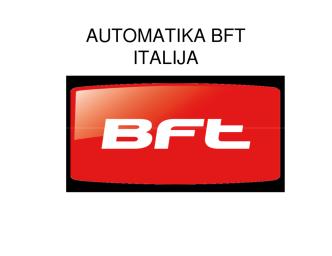 AUTOMATIKA BFT ITALIJA