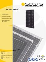 MODEL SV72 E