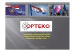 Predstavljenje aktivnosti Opteko klastera