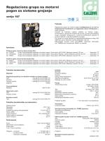 Regulaciona grupa na motorni pogon za sisteme grejanja