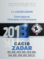 cacib zadar 2013
