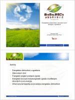 Sadržaj • Energetska učinkovitost u zgradama
