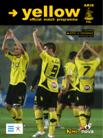 official match programme