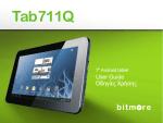 Tab711Q - Manual