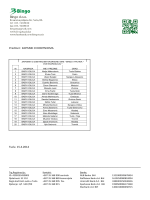Predmet : ZAPISNIK O DOBITNICIMA Tuzla 15.4.2014