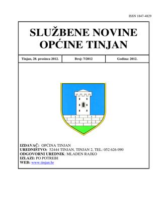 07-2012 - Općina Tinjan