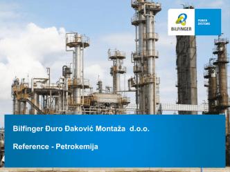 Bilfinger Đuro Đaković Montaža d.o.o. Reference