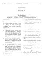 Κανονισμός (ΕΕ) αριθ. 61/2011 της Επιτροπής, της 24ης Ιανουαρίου