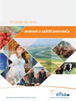 – znanost u zaštiti potrošača Od polja do stola - EFSA