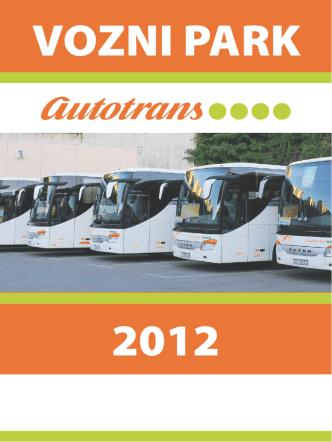 Brošura voznog parka - pdf format