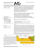 optička emisiona spektroskopija sa induktivno