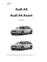 Audi A4 Audi A4 Avant