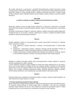 Pravilnik o uvjetima i postpuku za dodjelu sredstava po