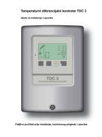 Temperaturni diferencijalni kontroler TDC 3