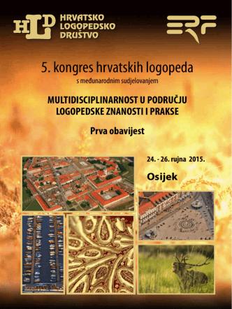 5. kongres hrvatskih logopeda