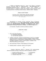 Obavještenje za skupštinu dioničara 06.05.2014