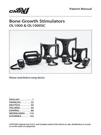 Bone Growth Stimulators