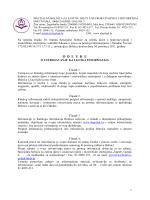 odluka o ustrojavanju kataloga informacija