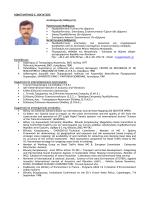Βιογραφικό Σημείωμα - Τμήμα Πολιτικών Μηχανικών