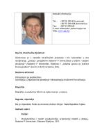 Kontakt informacije Tel.: +387 53 209 621(centrala) +387 53 209