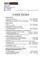 cijene - STP